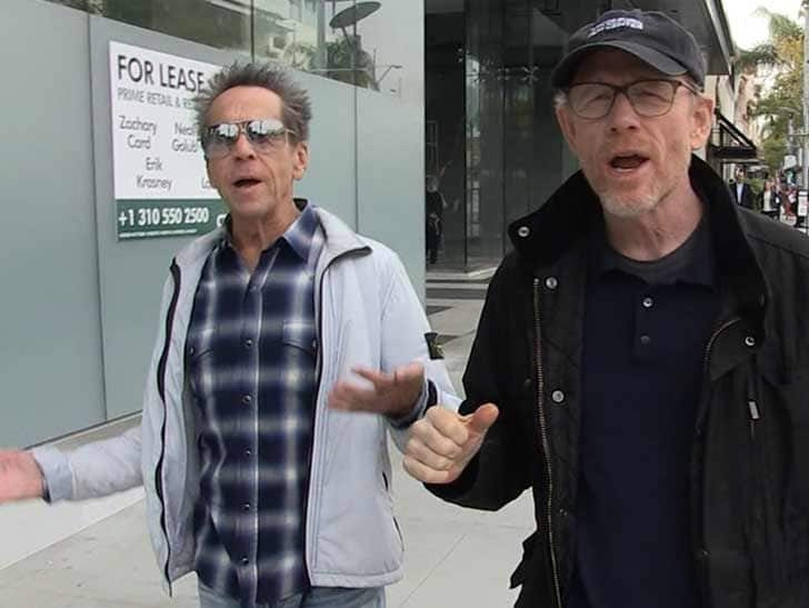 Brian Grazer et Ron Howard