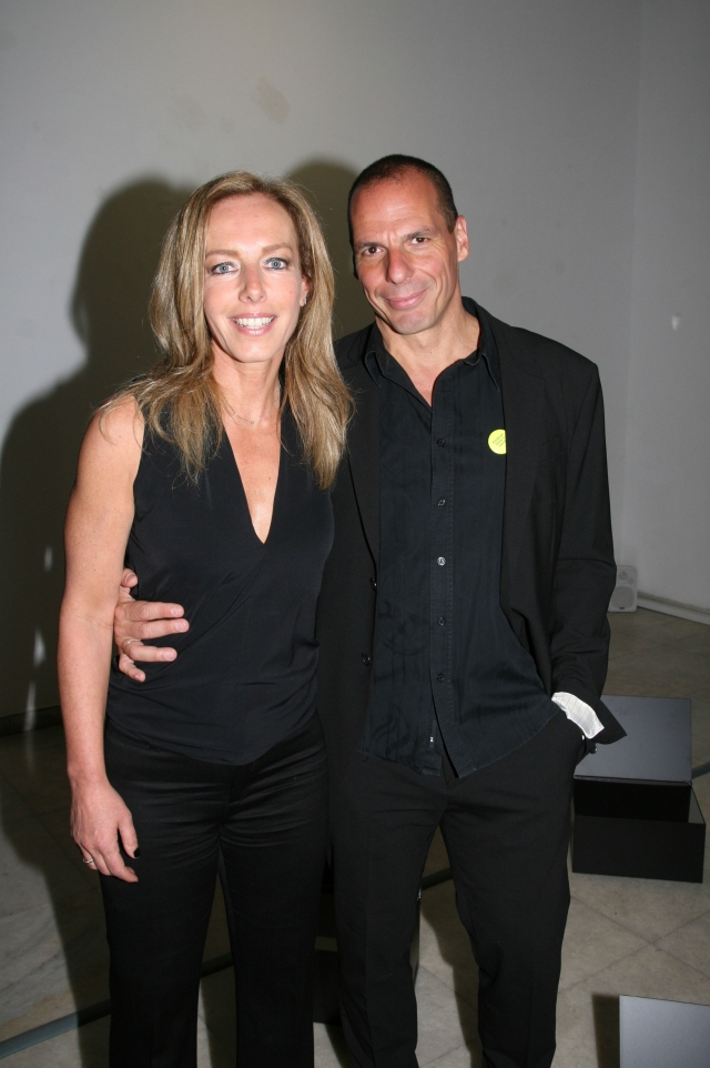 Yanis Varoufakis et Danae Stratou