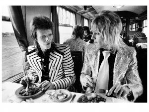 Bowie et Mick Ronson