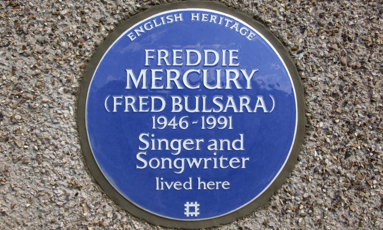 Freddie Mercury home