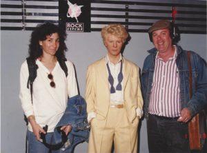 Ed Ward & David Bowie