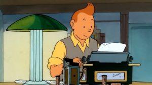 Tintin reporter