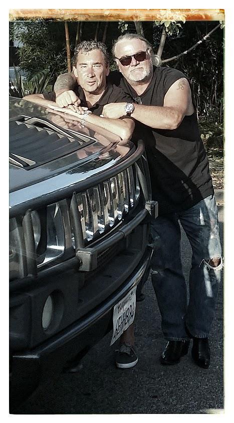 Phil, GBD et le Humvee de Phil