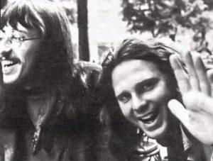 Hervé Muller et Jim Morrison