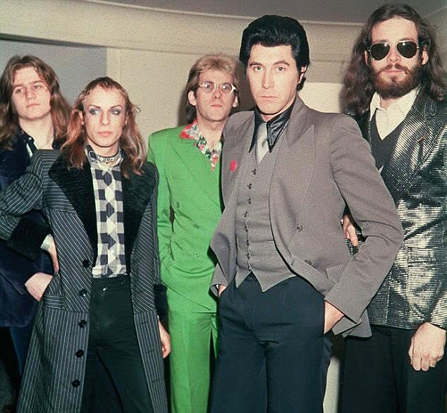 Roxy Music au bataclan en 1972