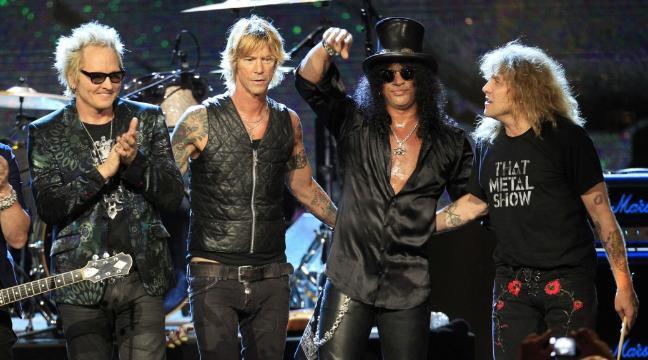Slash + Axl + Duff