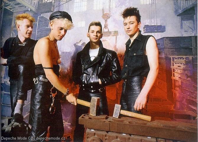 Depeche Mode circa 84