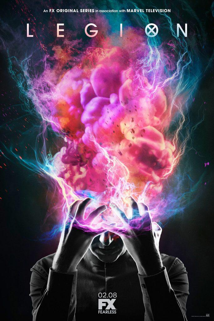 legion tv poster
