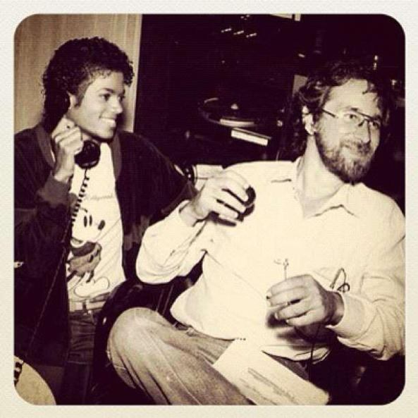 Michael Jackson & Rod Temperton