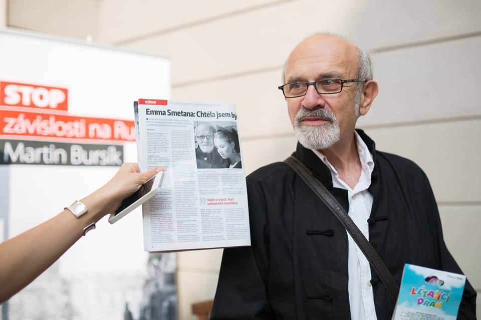 Jiri Smetana, fier de sa fille Emma
