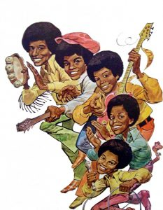 The jackson five cartoon