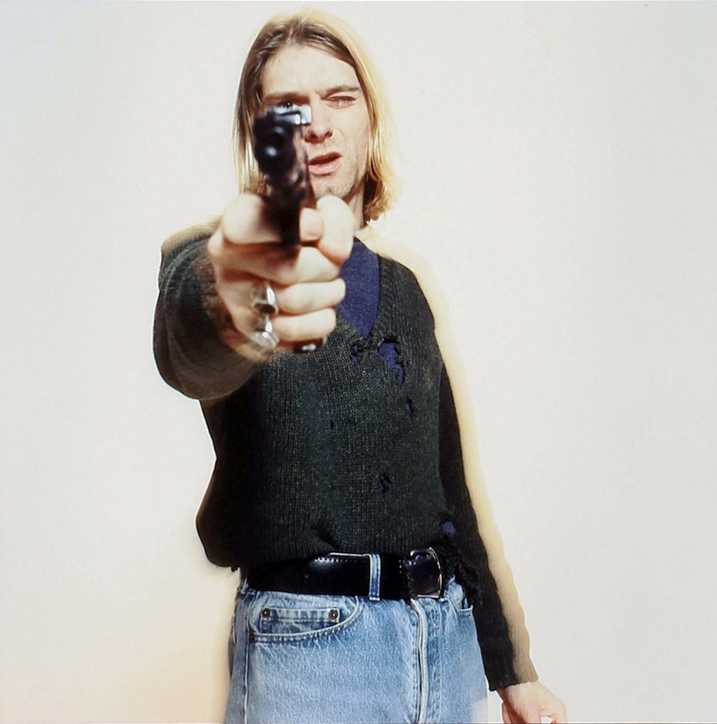 Kurt Cobain by Youri Lenquette