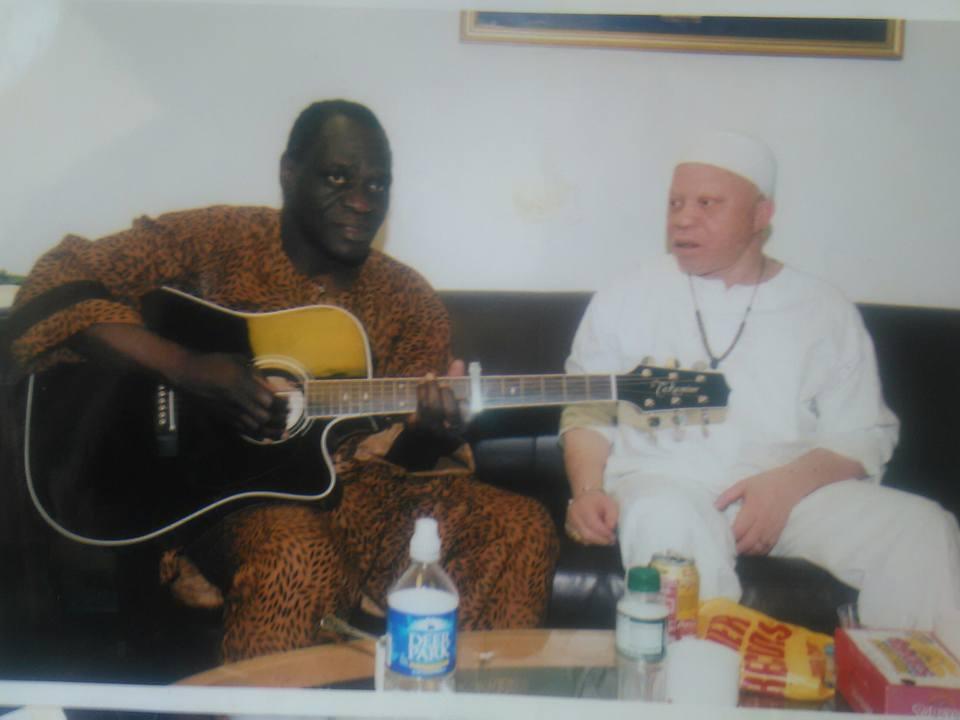 Djély moussa KOUYATE et Salif KEITA