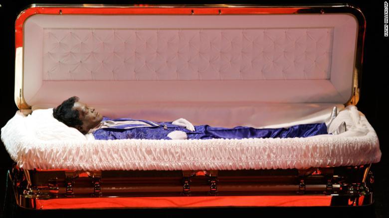 James Brown death