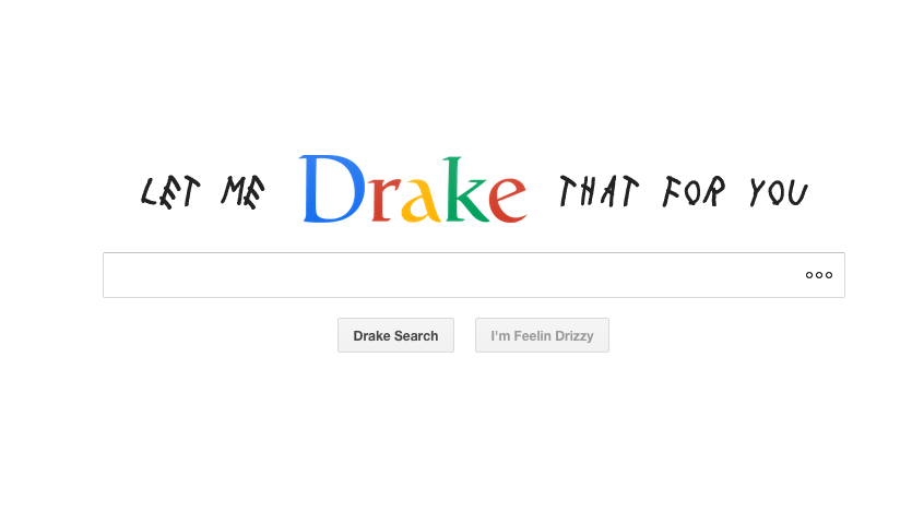 Let me Drake that
