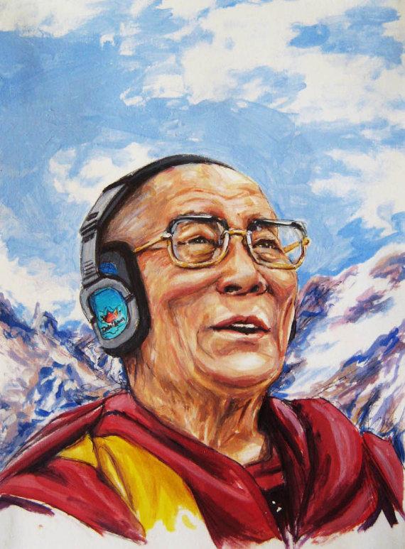 3-DJ-Dalai-Lama-by-Arotin-Hartounian