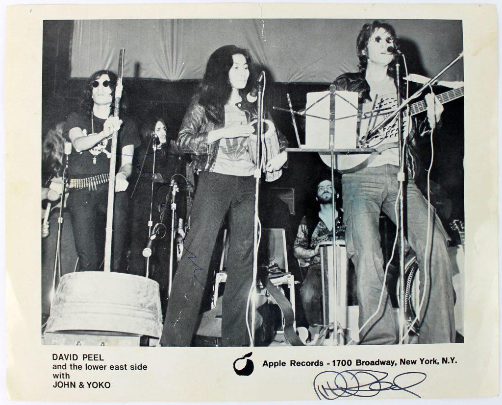 David Peel, John & Yoko