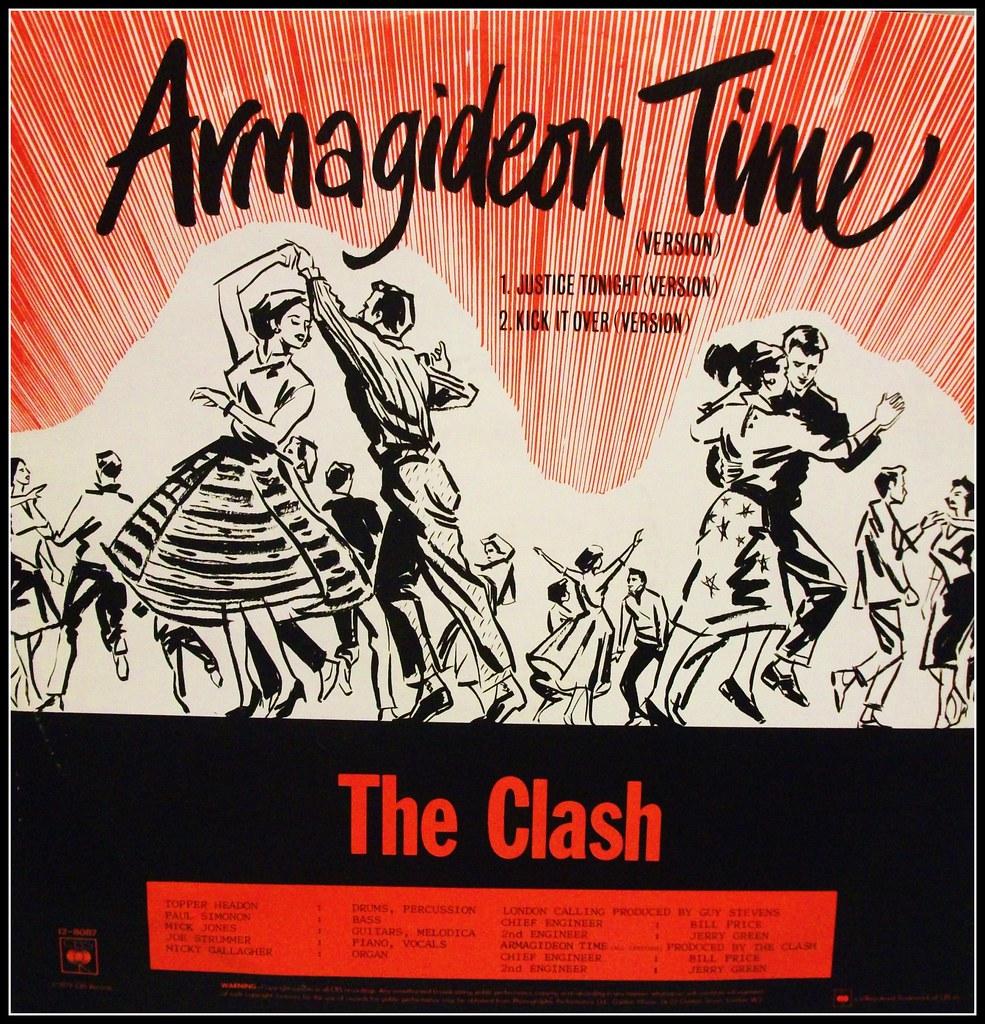 The Clash Armagideon Time
