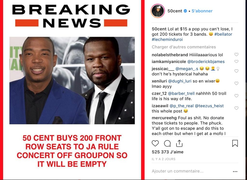50 cent VS Ja Rule