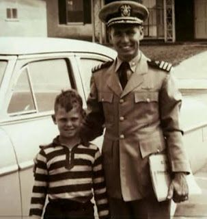 Jim Morrison and dad