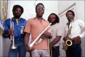 E, W & F horn section