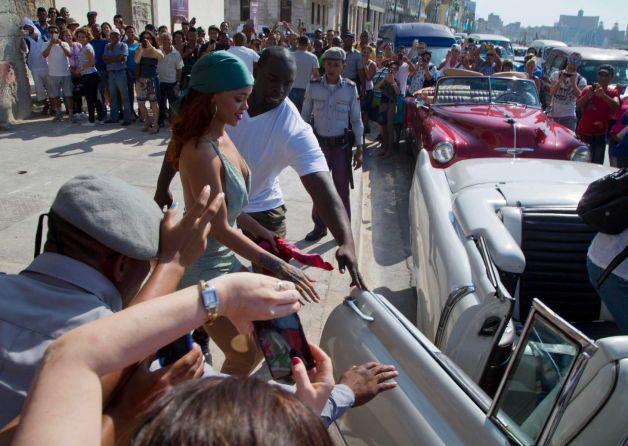 Rihanna à Cuba