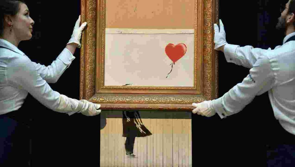 Banksy Sotheby's