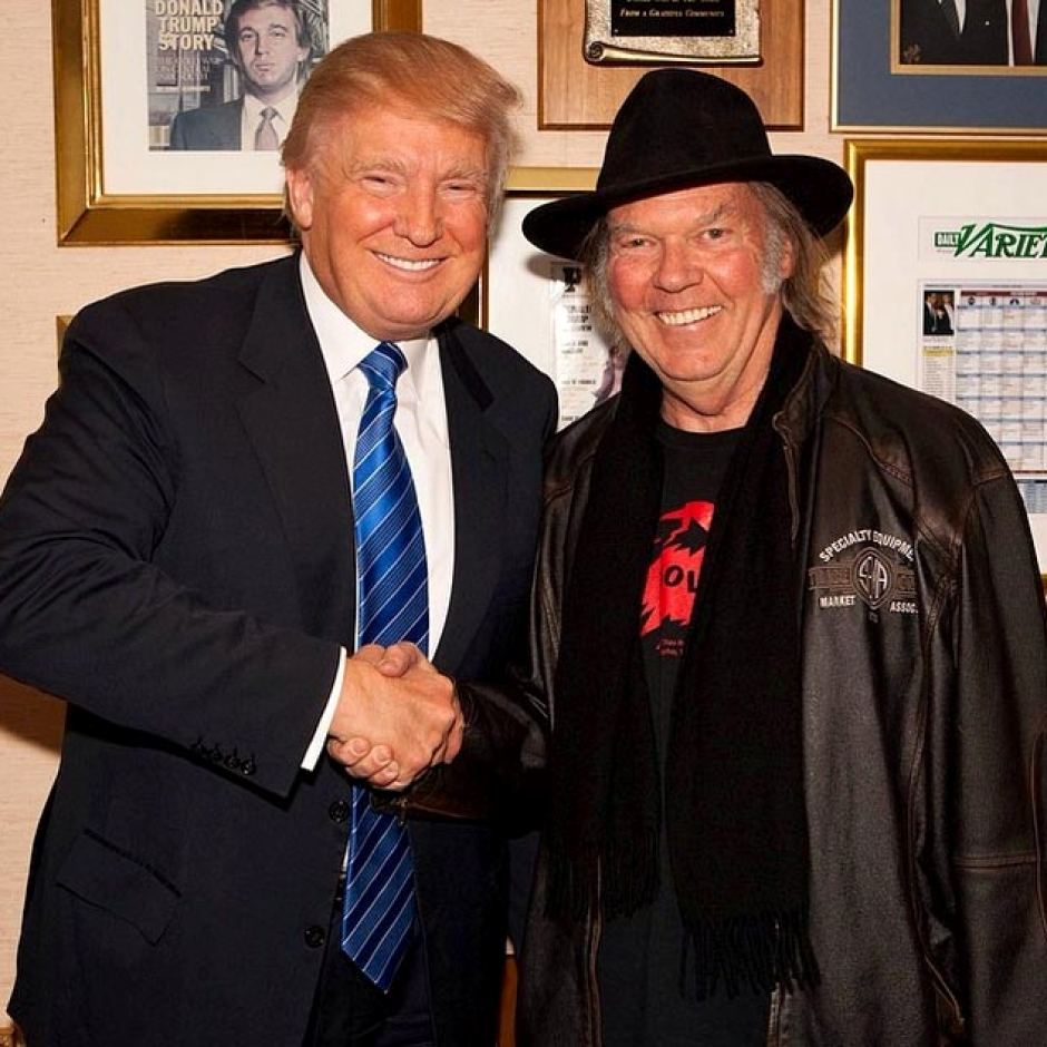 Neil Young & Donald Trump