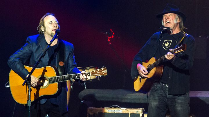 Neil Young Stephen Stills