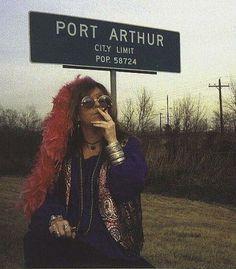 Janis in Port Arthur