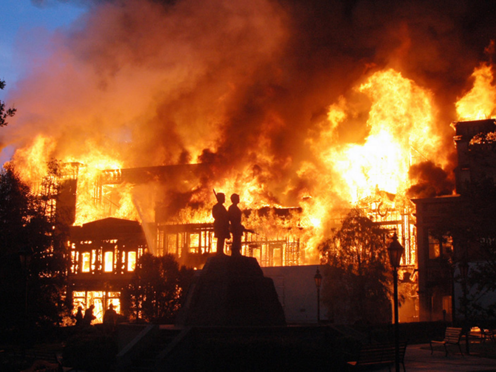 Universal music fire