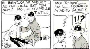 Tintin & Tchang