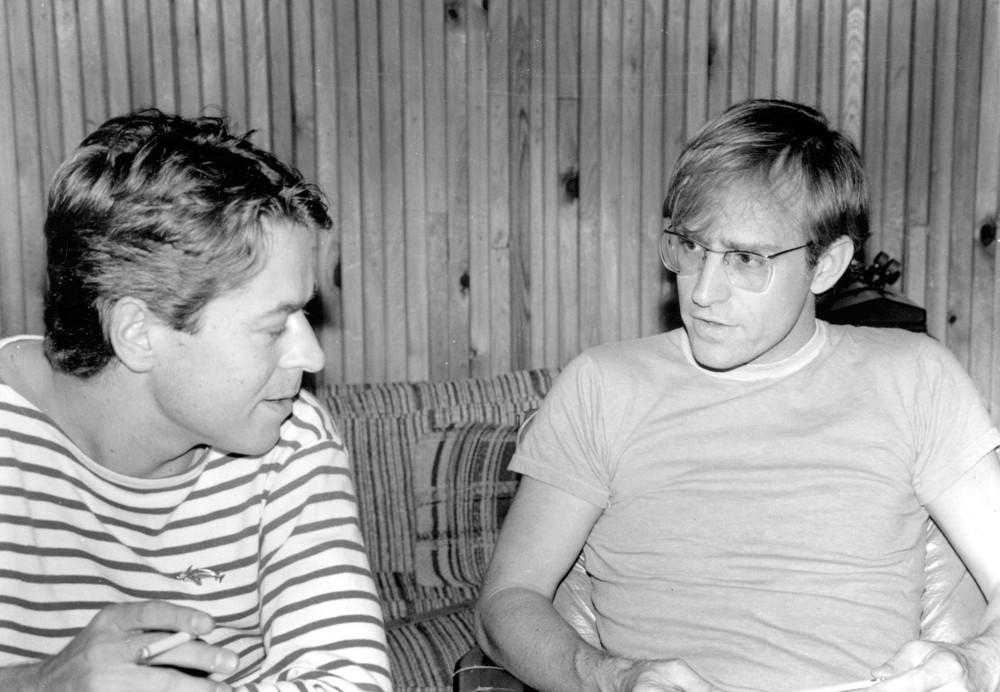 Robert Palmer et Moon Martin
