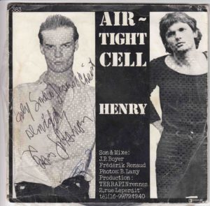 AIRTIGHT CELL signé par David Johansen