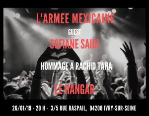 ARMEE MEXICAINE - LE HANGAR LITTLE