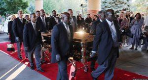 Aretha funeral