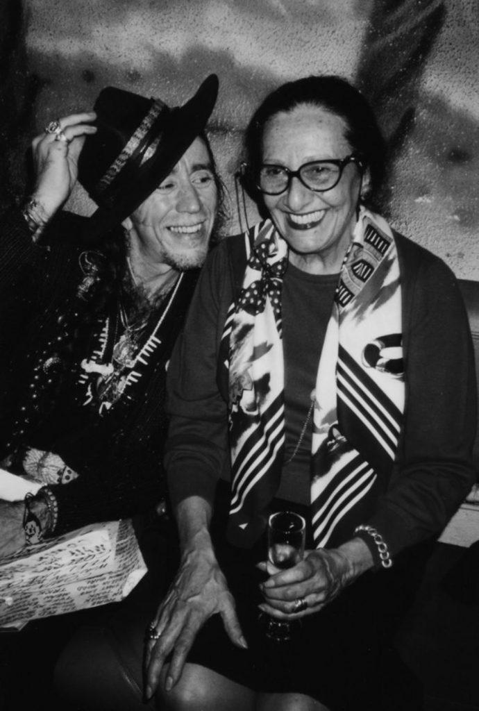 Avec Coco Robicheaux (collection madame Farhi)