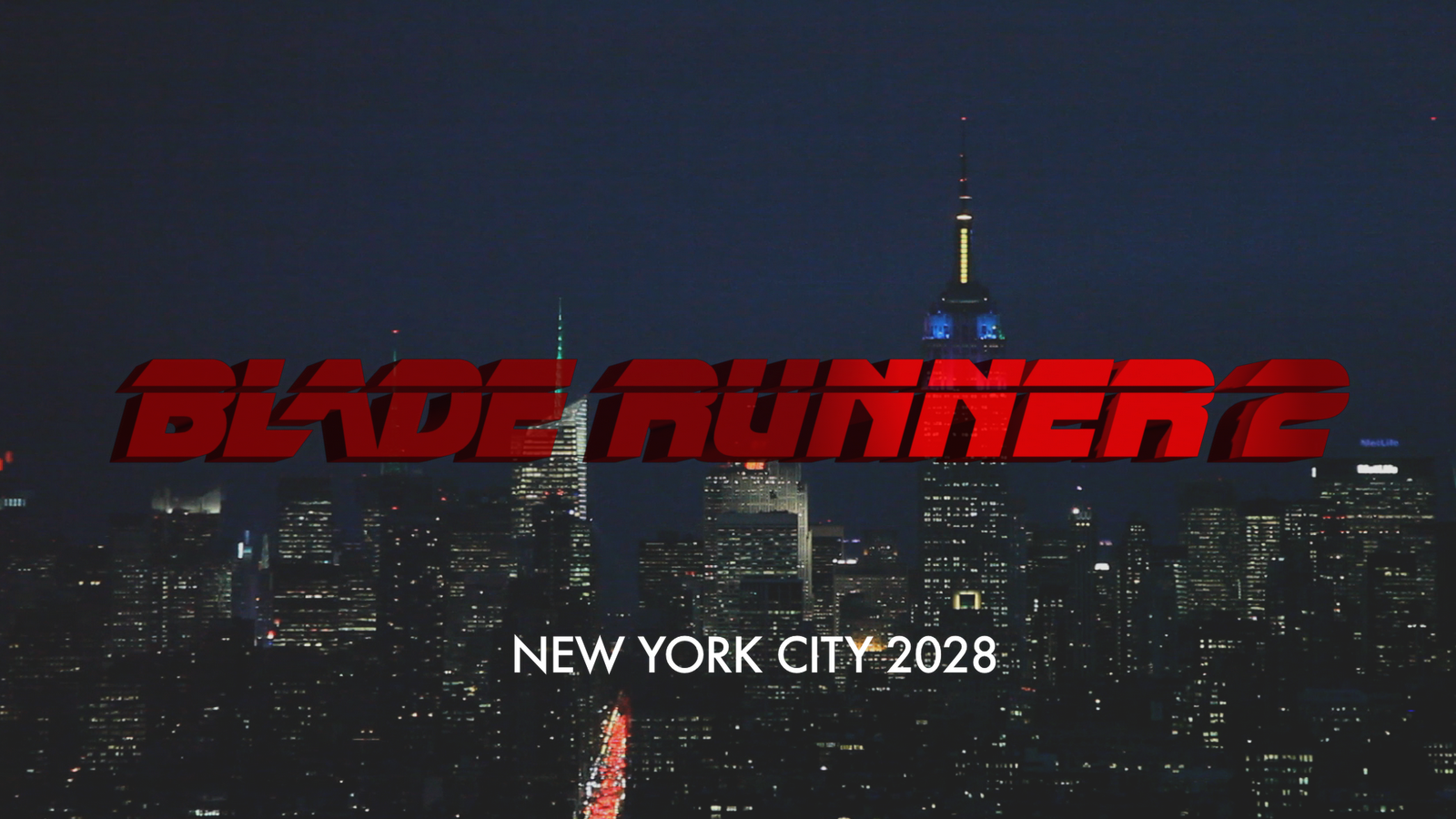 BLADE RUNNER 2 TRAILOR Title