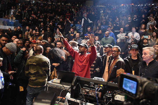 Kanye West @ Madison Square Gardens