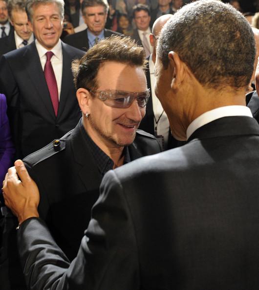 Barack+Obama+Bono+