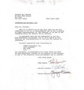 Beatles-break-contract-