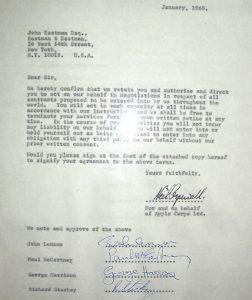 Beatles-contract-