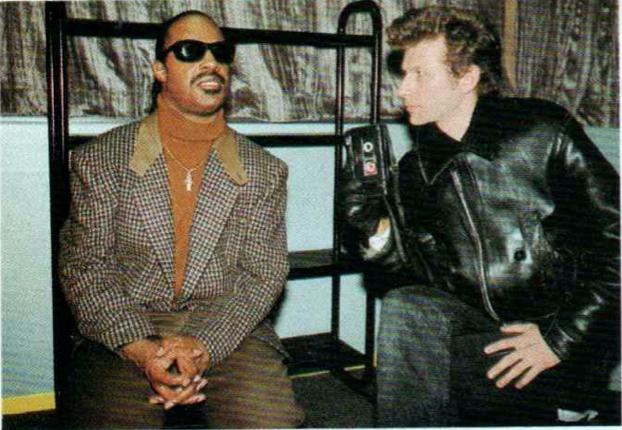 Stevie Wonder & Bruno Blum