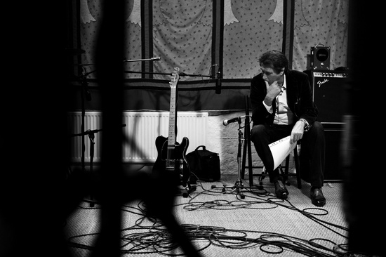 BryanFerry at the studio