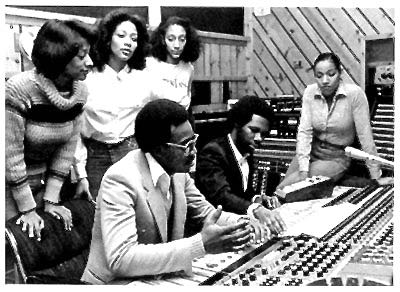 Sister Sledge + Chic Power Station studio