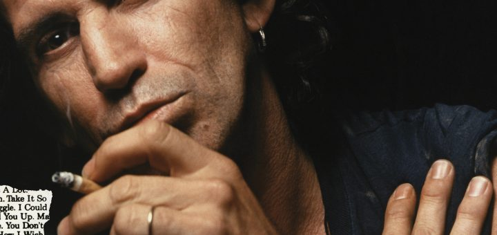 Cover Keith Richards Talk Is Cheap