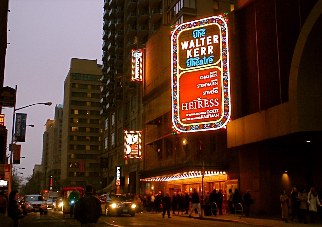 The Walter Kerr Theater, NY
