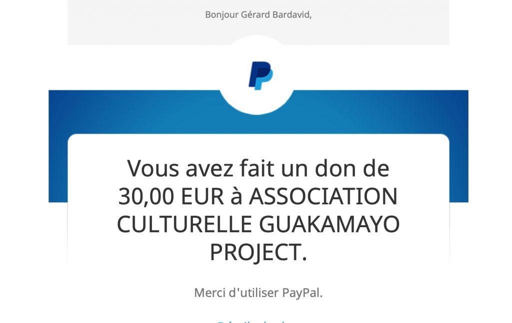 Don pour el Guakamayo