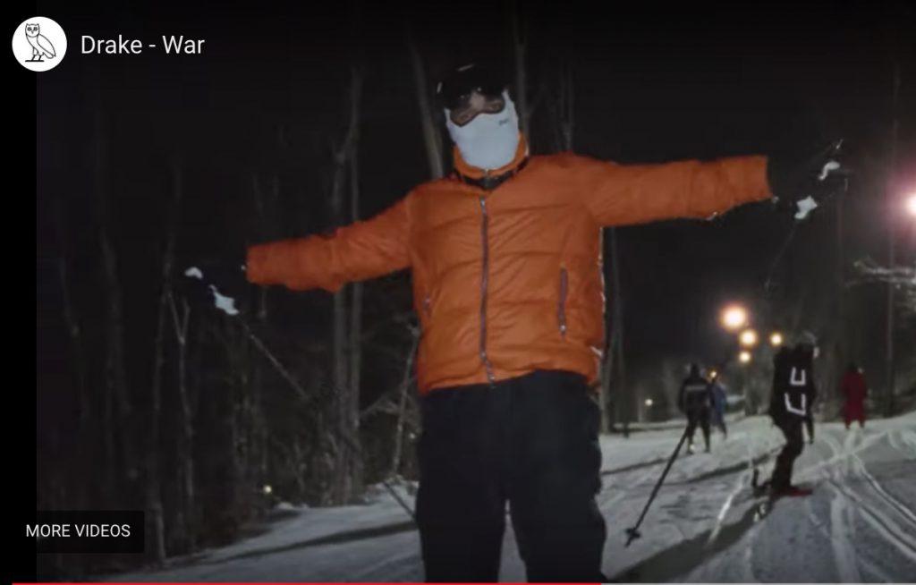 Drake au ski
