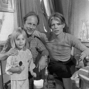 Duncan Bowie, Nicolas Roeg et David bowie